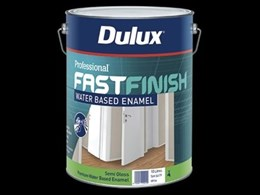 New Professional Fast Finish range from Dulux achieves faster, high quality results