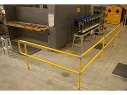 New SA distribution centre installs Moddex SafeStop safety railing system