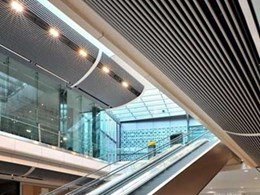 New SAS linear ceiling system delivers high visual impact