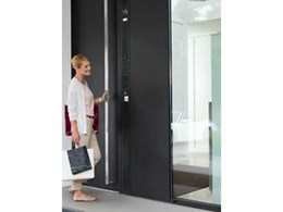 New Schüco door control system combines design, comfort and security