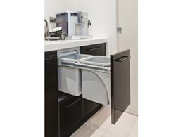 New Soft Close and Deluxe range of Hideaway slide out bins from Kitchen King