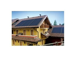 New Tegola Canadese photovoltaic roof tiles from Copper Roof Shingles
