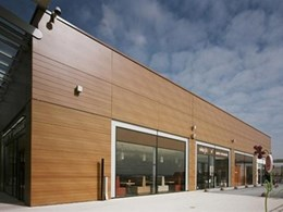 New Trespa Meteon Wood Décor Range, a great facade alternative