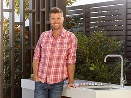 New alfresco sinks, accessories and taps in Clark Pete Evans range