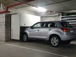 New apartment building installs Ezi-Store over bonnet storage units in car park
