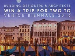 New architecture competition offers trip to Venice Biennale plus prize money
