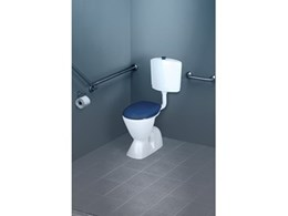New blue Care range of toilet suites from Caroma help care for vision impaired