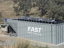 New container wastewater treatment for remote sites from CST Wastewater Solutions