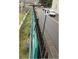 New generation portable noise barrier from Echo Barrier reduces construction noise