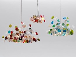 New light fittings by Marc Pascal feature LED lights utilising a modular energy hub