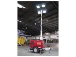 New lighting towers from Kennards Hire