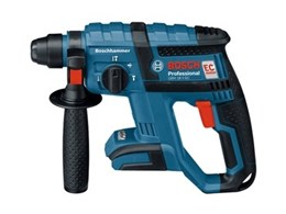 New powerful Bosch Blue 18V cordless rotary hammer with efficient EC brushless motor
