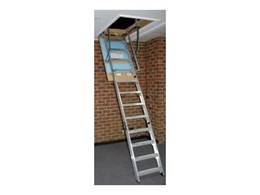 New range of attic ladders from Kimberley Products