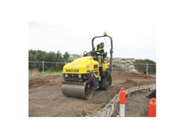New ride-on roller compaction equipment now available from Kennards Hire