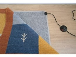 New rug heaters offer cost-efficient heating for home or office