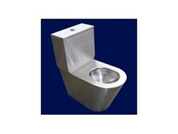 New stainless steel toilet suite from Britex