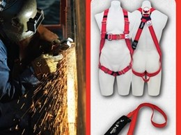 New welders range of Kevlar fall protection equipment