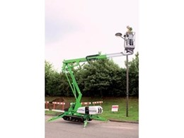 Nifty TD120T track drive access platform from Coates Hire