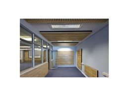 Noise control kits from Supawood Architectural Lining Systems used for noisy school in Cronulla
