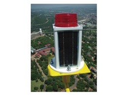 Obstruction lights for buildings, bridges, cranes and towers from Orion Solar