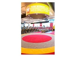 Ontera is the preferred carpet tiles supplier for Fitness First nationwide