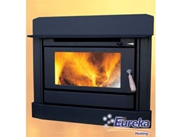 Opal fireplace insert wood heaters from Eureka Heating, a new generation in heating technology