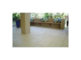 Outdoor pavers and copers from iPAVE