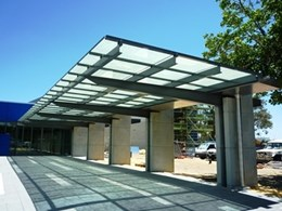 Overhead glazed roof systems from Sunlite Australia