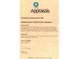 OzRoll Roller Shutters - Bushfire Protection as Appraised by CSIRO