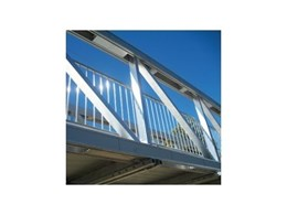 PML aluminium foot bridges from Landmark Products provide corrosion resistance