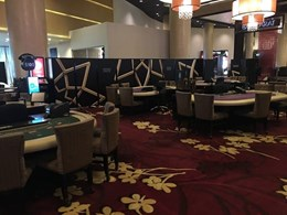 Room dividers customised with decals keep Sydney casino operational during construction