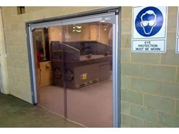 PVC Swingflex doors from DMF International