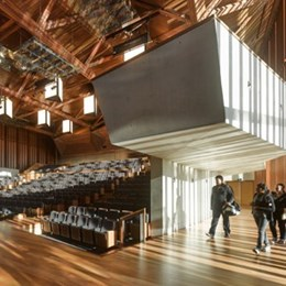 UQ Advanced Engineering Building by Richard Kirk Architect HASSELL Joint Venture wins top Interior and Public Architecture awards at AIA National Awards