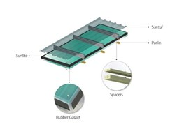 Palram developing insulated roof lights for corrugated insulated roofs