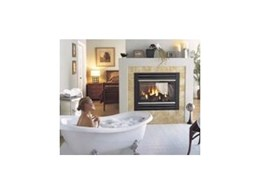 Panorama PG121 fireplace available from Regency Fireplace Products Australia