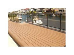 Passport PVC decking from Composite Materials Australia to be showcased at DesignBUILD Sydney 2011