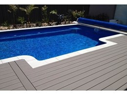 Passport PVC decking from Composite Materials Australia for pools and spas