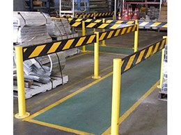 Path Guard industrial safety barriers supplied by Ingal Civil Products