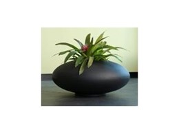 Pebble range of planters available from Ambius