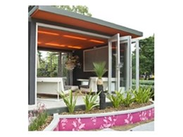 Perspex Frost from Mitchell Plastics used at the Melbourne International Flower and Garden Show