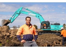 Pipeline specialist says new Kobelco excavator stronger, faster, safer