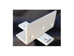 Pivot hinges from Angle Shoe Products ideal for contemporary interior work