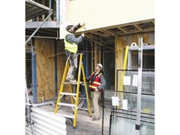 Platform step ladder hire from Kennards a step up in safety