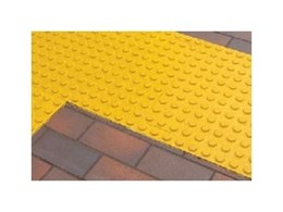 PolyPad rubber tactile indicator pads from CTA Australia ideal for retrofit applications