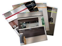 Polytec introduces new look brochures for all cabinet door ranges