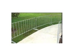 Portable Event Fence barrier system for outdoor and indoor activities from Spacepac Industries