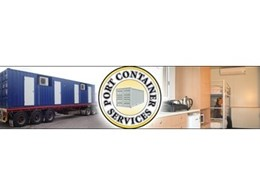 Portable accomodation containers from Port Container Services