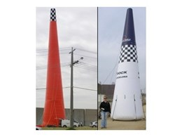 Portable air inflated towers and pylons from Giant Inflatables