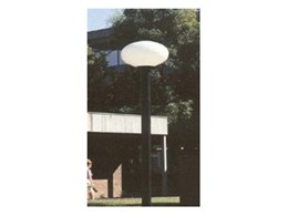 Post top outdoor light fittings from Dasco Lighting