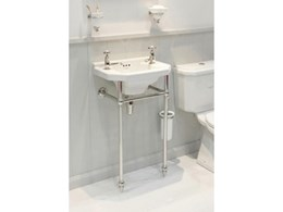 Powder room basins from The English Tapware Company